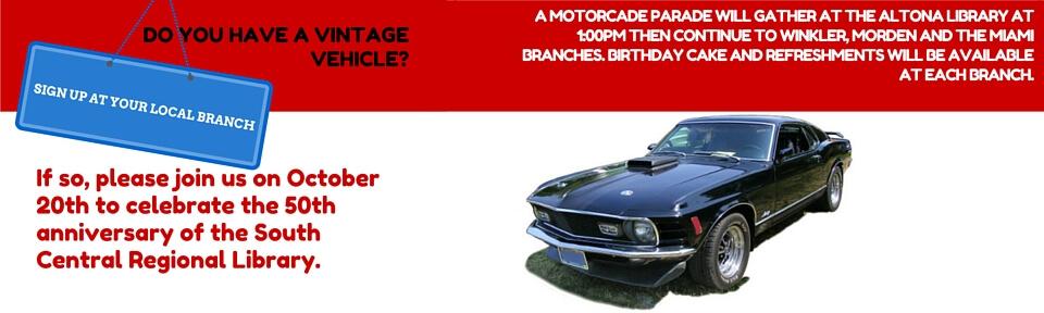 50th Anniversary Motorcade