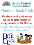 Manitou Book Club @ Manitou Branch