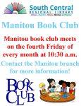 Manitou Book Club @ Manitou Branch