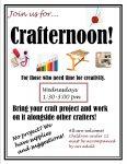 Winkler Crafternoons! @ Winkler Branch