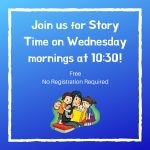 Winkler Preschool Story-time @ Winkler Branch
