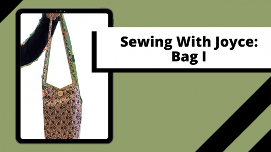 Sewing with Joyce: Bag @ Online